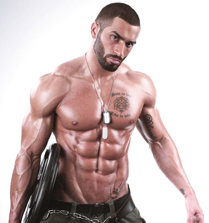 Bodybuilder Lazar Angelov Workout
