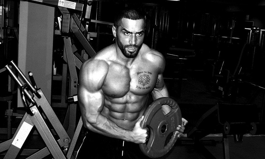 Lazar Angelov Workout